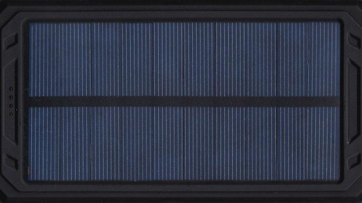【1月末までがお買い得!?】ソーラー充電モバイルバッテリー
