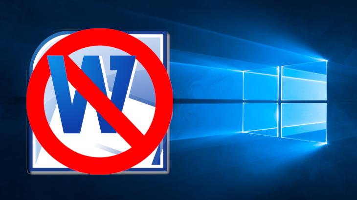 【ズバリ解決!】Windows10にアップグレードしたらWordだけ起動時にエラーが出る問題