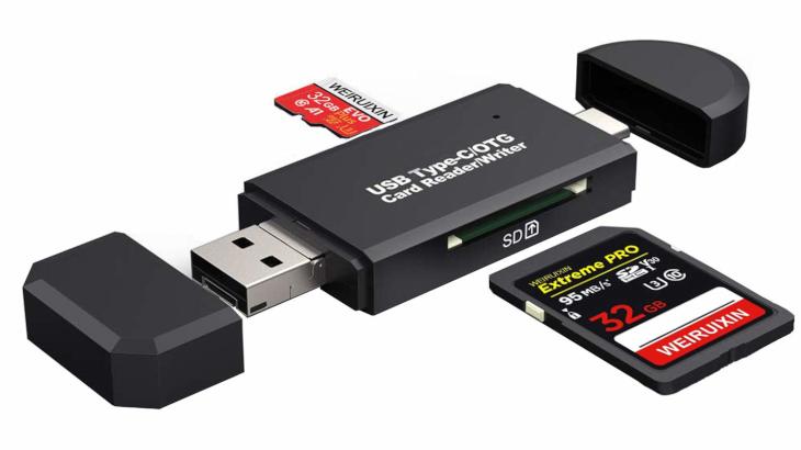 USB3in1マルチカードリーダ
